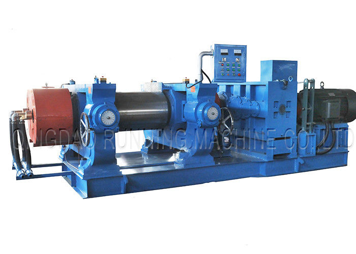 18 Inch Rubber Mixing Plant Machine With Touch Screen Graphic User Interface