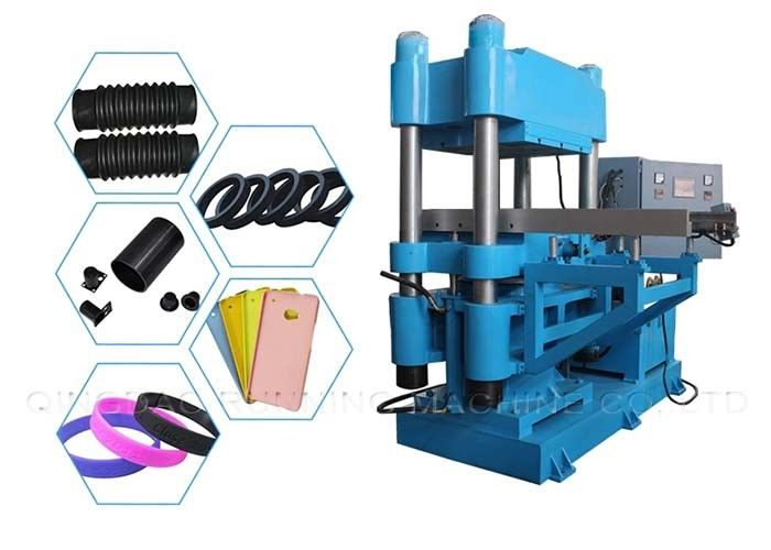 Plate Rubber Vulcanizer Rubber Making Machine To Manufacture PVC EVA Foam Carpet