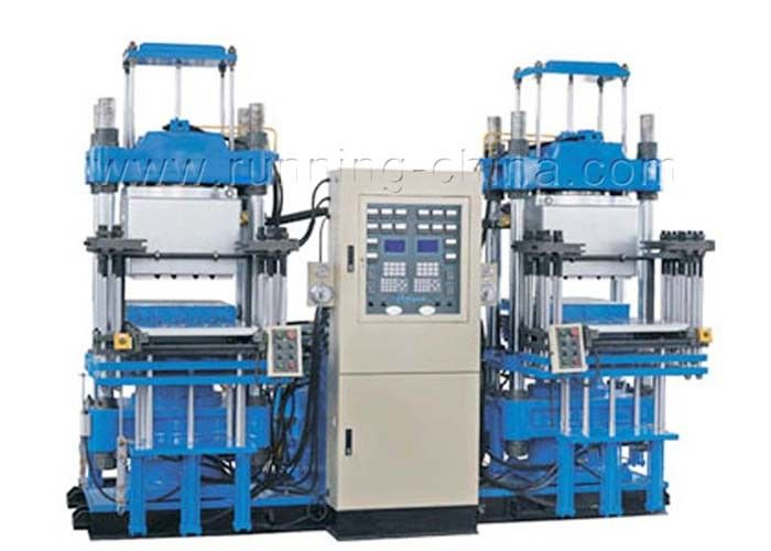2019 Hot Sale with CE certificate Rubber Molding Press Machine for Shoes one station two press for USA Market
